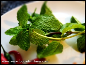 Fresh mint, makes it!