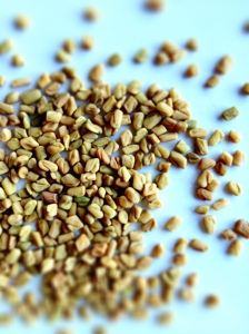 Raw hard seeds, right out of the package.