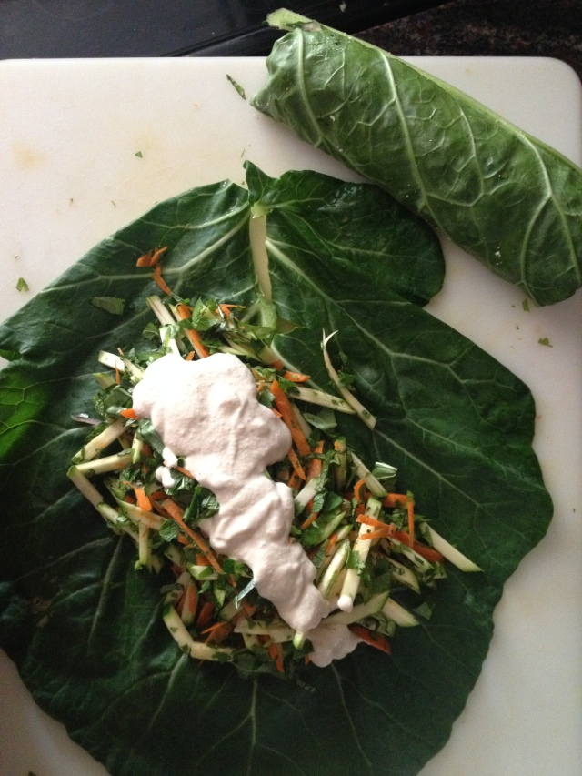 Raw Collard Wrap